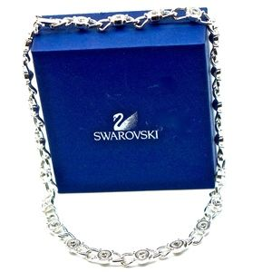 SWAROVSKI~crystal~SPARKLING TENNIS NECKLACE